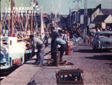 Fête de la mer à Port-en-Bessin de 1958 à 1962