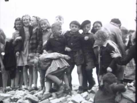 Après-guerre à Carpiquet et Saint-Manvieu