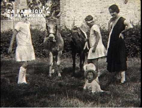 En famille de 1926 à 1937