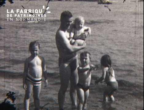 Voyages de la famille Bourdin au début des années 1960