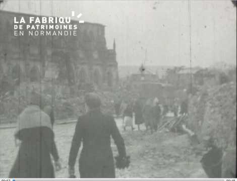 1944, les ruines
