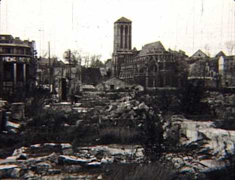 Caen dans l'immédiat après-guerre
