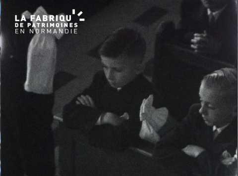 Communion en 1954 à Caen