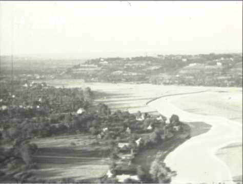 Aérodrome à Avranches dans les années cinquante