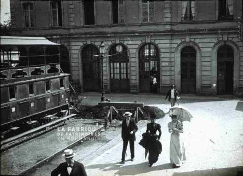 La gare de Caen au début du XXe siècle