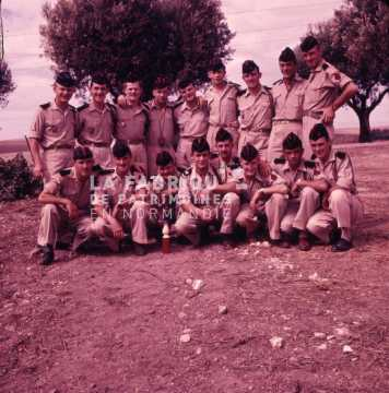 Groupe de soldats durant la guerre d'Algérie