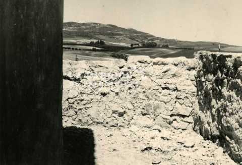 Mur d'une ferme algérienne