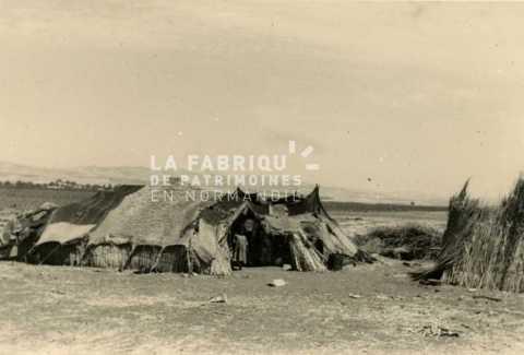 Famille pauvre en Algérie