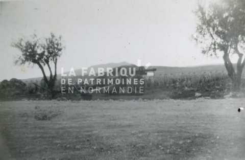 Canon de 105 mm M2 en Algérie