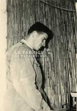 Soldat français durant la guerre d'Algérie