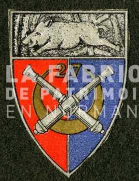 Insigne du 27e régiment d'artillerie