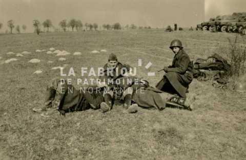 Soldats français durant des manœuvres militaires