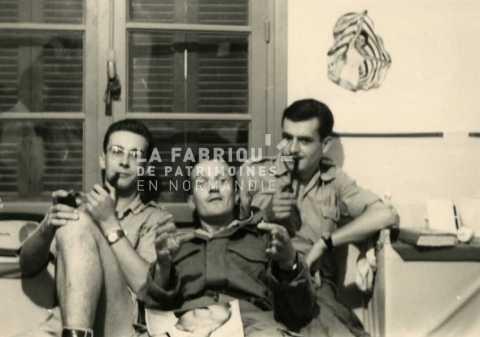 Soldats français en Algérie