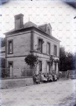 Mairie et école de Percy-en-Auge