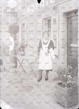 Portrait d'une servante