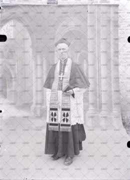 Portrait d'un homme d'église
