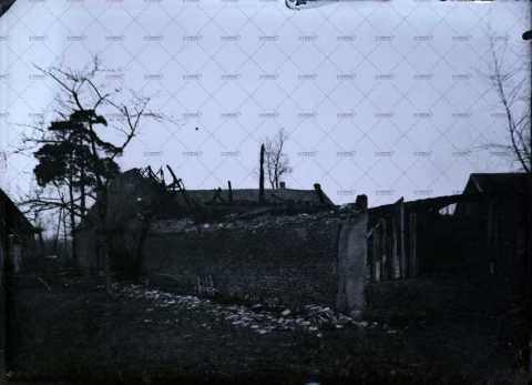 Ruine d'un bâtiment de ferme