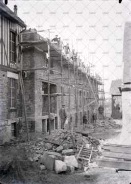 Quartier en construction
