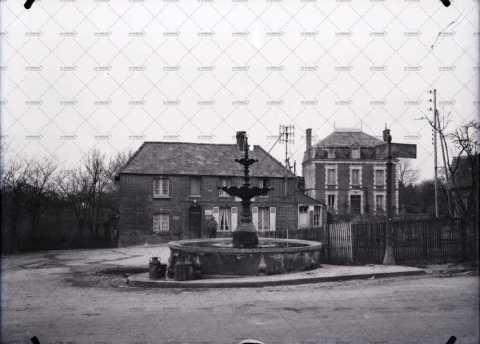 Boissey, place publique