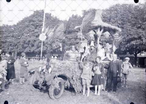 Carnaval, voiture décorée