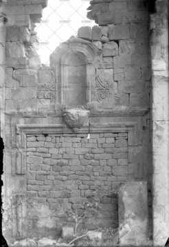 Caen, ruines