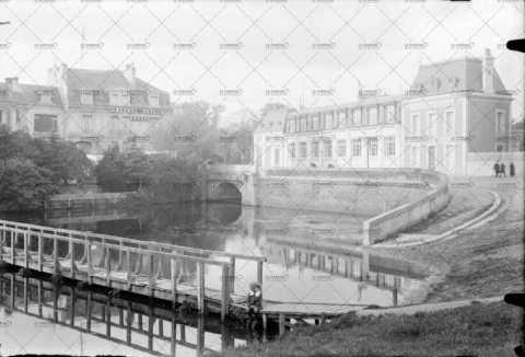 Caen, champ de course