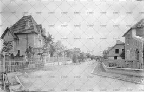 Caen, boulevard de Rethel sur la rive droite