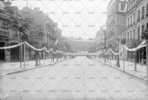Caen, boulevard des Alliés