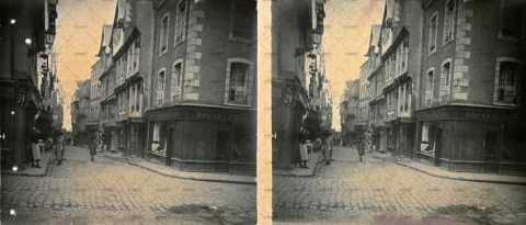 Caen, rue pavé