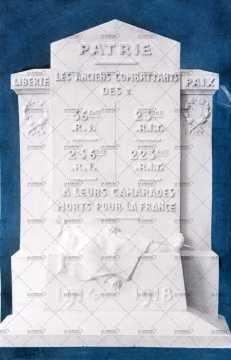 Projet du Monument aux morts de la Première Guerre mondiale de Robert Douin