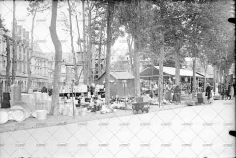 Le marché à Caen