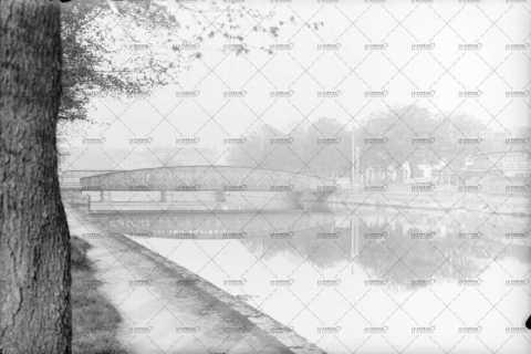 Caen, le pont de la Mutualité