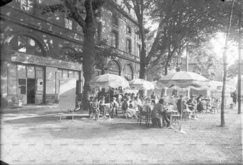 Caen, en terrasse