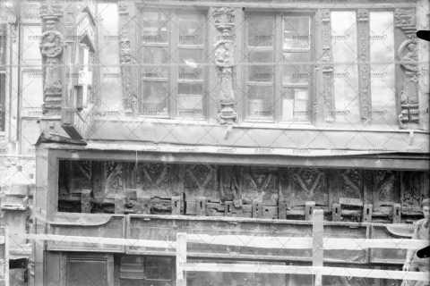 Caen, maison en pans de bois