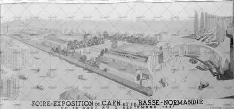 Caen, foire-exposition