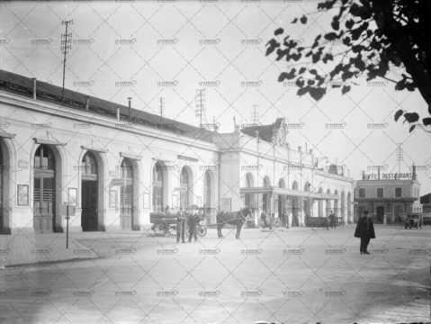 La gare de Caen