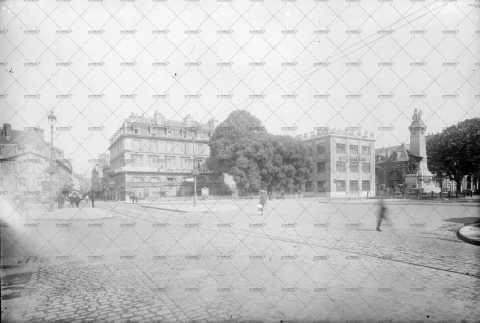 Caen, Place du 36ème régiment d'infanterie ou Place des Casernes