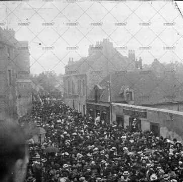 1910, procession de la Fête Dieu