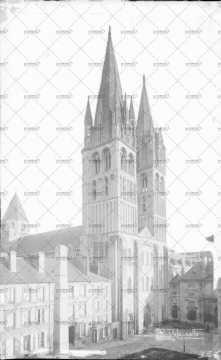 Caen, église Saint-Etienne