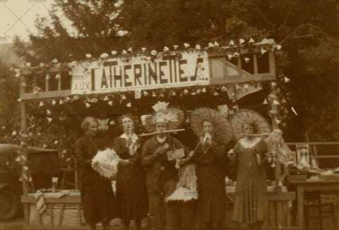 "Kermesse, comptoir ""aux catherinettes"""