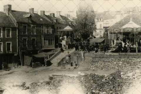 1946, fête à Pont-d'Ouilly