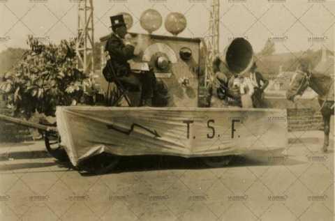 Char décoré TSF