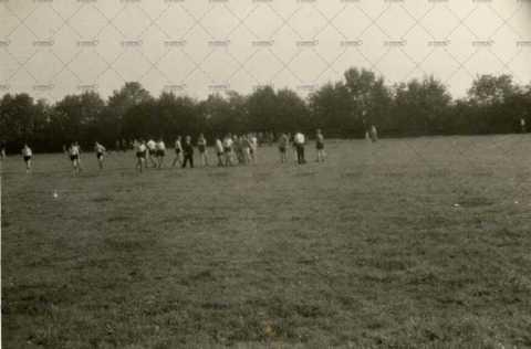 Match de football à Pont-d'Ouilly