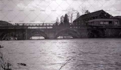 Inondations à Pont-d'Ouilly