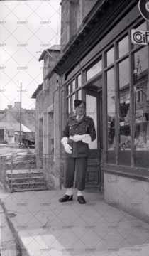 Portrait d'un jeune militaire
