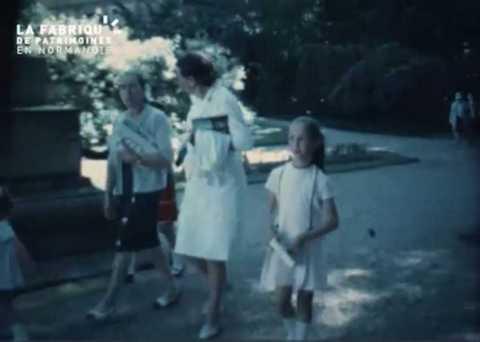 1968, remise de prix à Breteuil