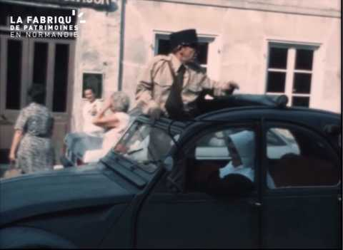 1979, corso fleuri à Breteuil