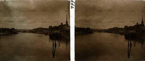 Vue de la Seine à Rouen