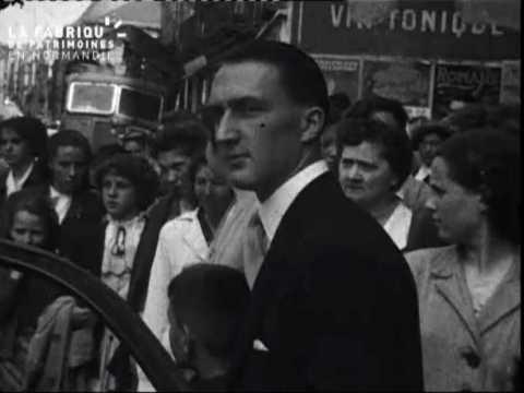 1950, mariage à Cholet