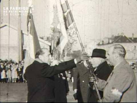 Cérémonie du 8 mai 1951 à Caen